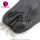 Silk Base Closure (4*4) Straight Hair Virgin Hair Top Closure Freestyle Free Part Middle Part Two Part Three Part