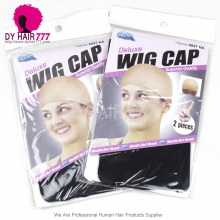 Wig Cap Stretch Polyester Stocking Elastic Liner Mesh 2Pcs