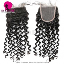 Lace Top Closure (4*4) Italian Curly Virgin Human Hair