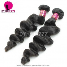 1Bundle Royal Virgin Brazilian Hair Extensions Loose Wave Wholesale Brazilian Double Weft Loose Curly Weaving