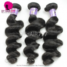 3 or 4 pcs/lot Mongalian Standard Unprocessed Virgin Hair Extensions Loose Wave Wavy Hair