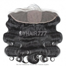 Silk Base Frontal (13*4) Body Wave Virgin Human Hair Top Closure