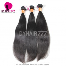 3 or 4 Bundles Unprocessed Virgin Remy Hair Royal Burmese Straight Hair Extension