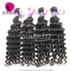 Best Match Royal 3 or 4 Bundles Cambodian Virgin Hair Deep Wave With Top Lace Closure Hair Extensions