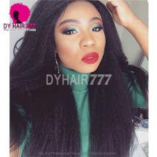 Royal grade 3 or 4 bundles Virgin Brazilian Kinky Straight Hair Extension Natural Color