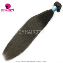Color1b Wholesale 1 Bundle Peruvian Standard Virgin Straight Hair Extension