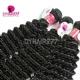Best Match 4*4 Silk Base Closure With 3 or 4 Bundles Malaysian Deep Curly Standard Virgin Human Hair Extensions