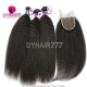 Best Match Royal 3 or 4 Bundles Cambodian Virgin Hair Kinky Straight With Top Lace Closure Hair Extensions