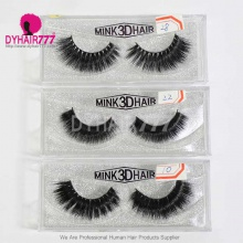 3D Mink Hair Black Makeup Eyelash (leave message for the style number,  or by random)