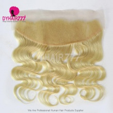#613 Blonde Frontal 13*4 Lace Frontal Closure Body Wave Virgin Human Hair