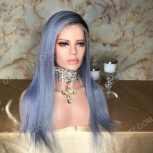 Lace Front Wig 150% Density Human Hair Customize Wig 7 Working Days Ready LAZF49-L