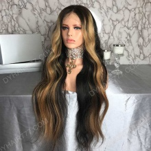 Lace Front Wig 200% Density Human Hair Customize Wig 7 Working Days Ready TRLW29-L