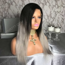 Lace Front Wig 130% Density Human Hair Customize Wig 7 Working Days Ready BGST35-L