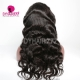 300% Density Lace Frontal Wigs Body Wave Virgin Human Hair Natural Color