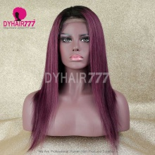 Lace Front Wig 130% Density Human Hair Customize Wig 7 Working Days Ready WSTT39-L
