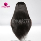 130% Density 1B# Top Quality Virgin Human Hair Straight Hair Lace Frontal Wigs