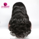130% Density 1B# Top Quality Virgin Human Hair Body Wave Full Lace Wigs Natural Color