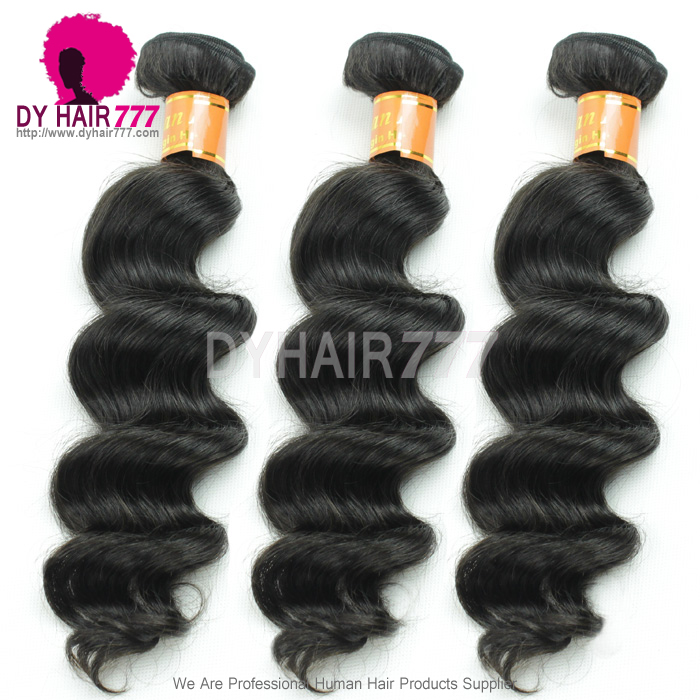 3 Or 4 Bundle Deals Standard Virgin Hair Burmese Loose Wave Human