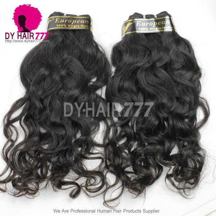 European Virgin Hair Best Human Hair Extensions Real Curly Hair