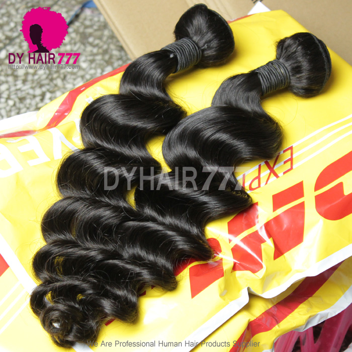 1pc Virgin Malaysian Standard Hair Loose Wave Cheap Remy Hair