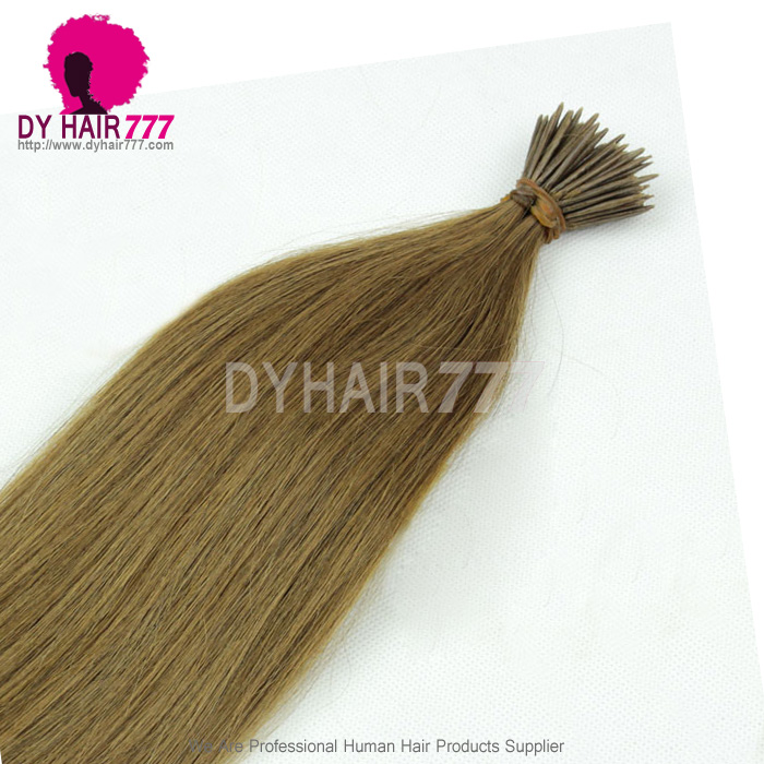 Brazilian Virgin Hair Straight Remy Human Hair Extension 8 Stick I