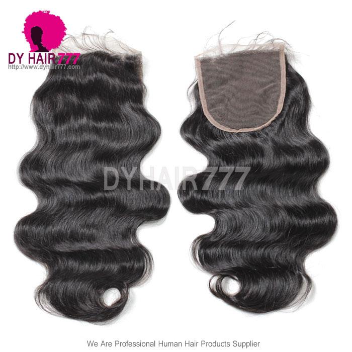 5 5 Lace Top Closure Body Wave Virgin Human Hair Swiss Lace Virgin