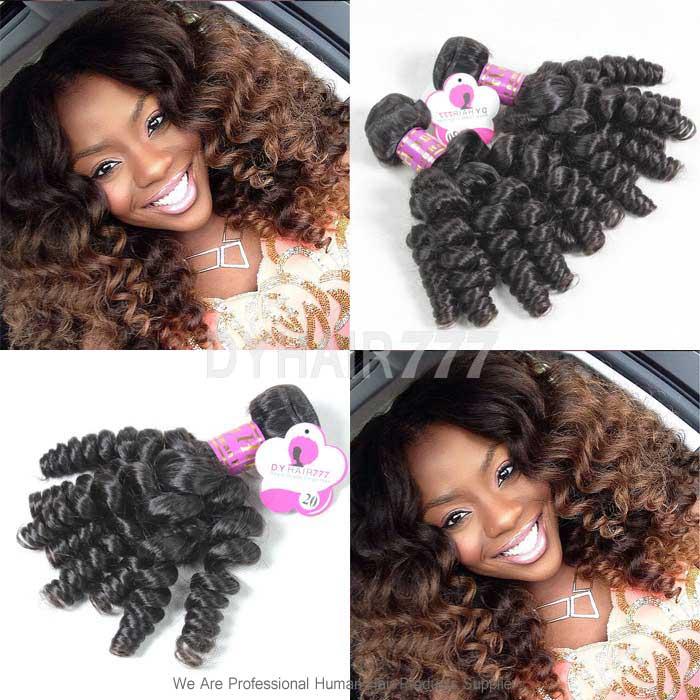 3 Or 4 Bundles Royal Brazilian Virgin Hair Spiral Curls Human Hair