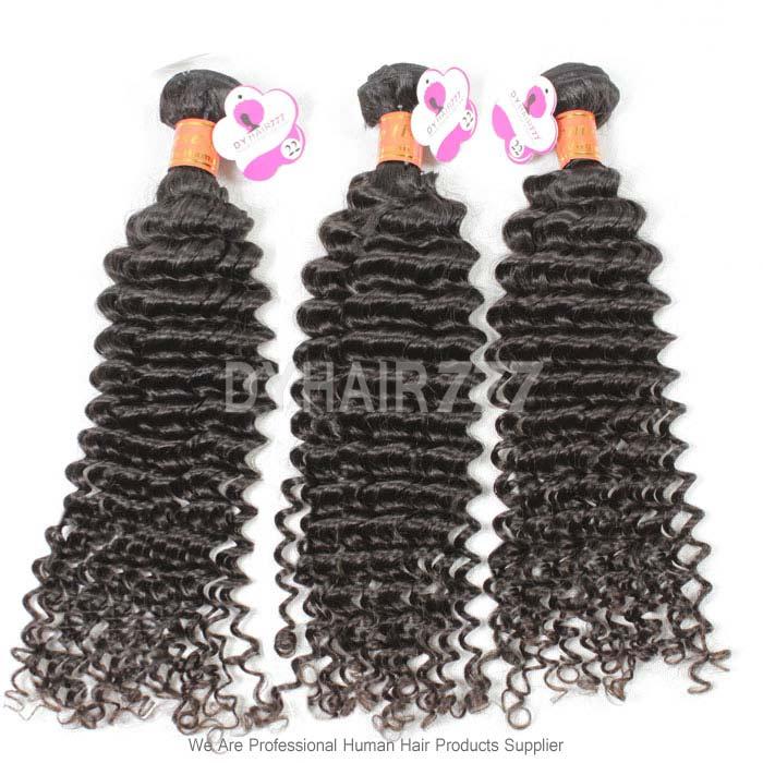 Unprocessed 3 Or 4 Bundles Virgin Hair Royal Burmese Deep Curly Wave