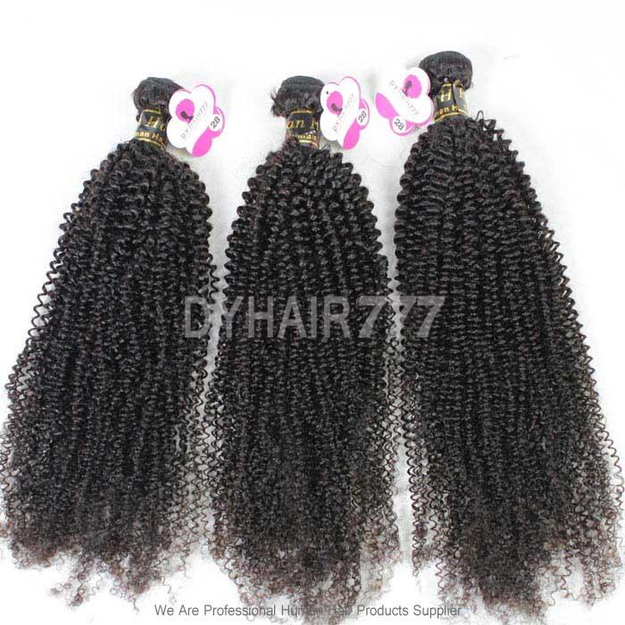 Virgin 3 Or 4 Bundles Deal European Hair Royal Kinky Curly Wave Hair