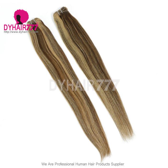 Color P427 Brazilian Straight Hair Human Hair Extension Virgin