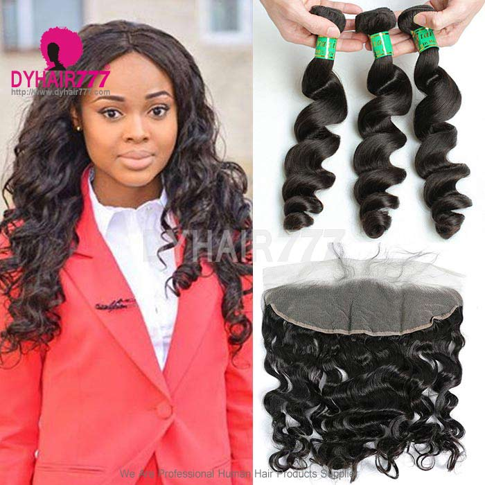 Bundles With Frontal Best Human Hair Extensions Real Curly Hair
