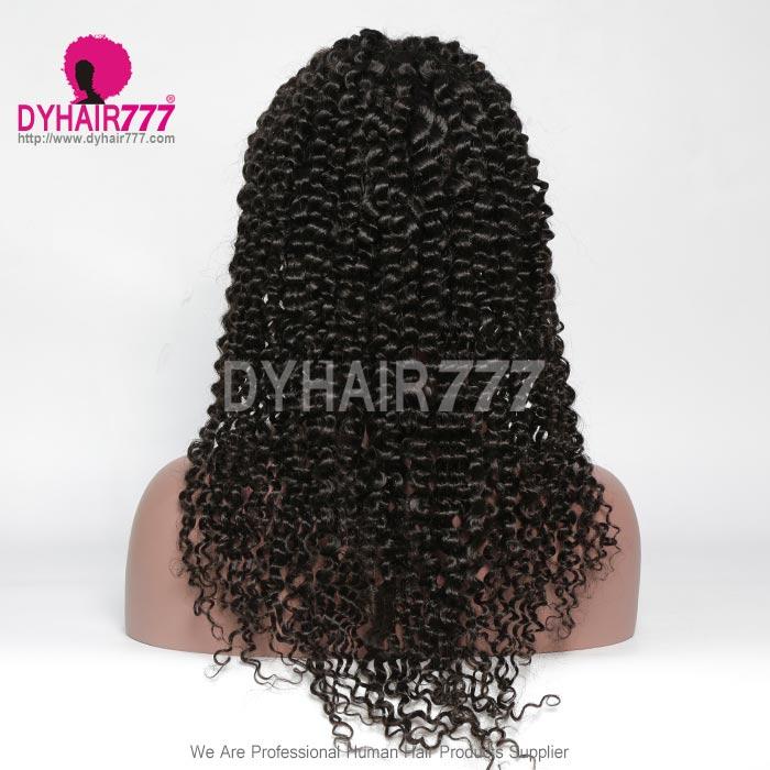 130 Density 1b Top Quality Virgin Human Hair Deep Curly Full Lace