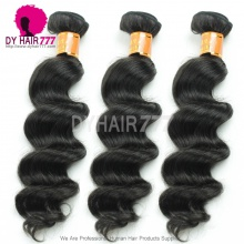 3 or 4 Bundle Deals Standard Virgin Hair Burmese Loose Wave Human Hair Extensions