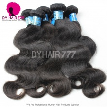 Unprocessed 3 or 4pcs/lot Virgin Hair Body Wave Grade 6A Royal Peruvian Hair Extensions