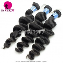 Royal Peruvian Virgin Hair 1 Bundle Loose Wave Human Hair extension