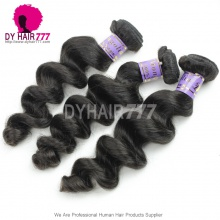 Mongolian Standard 1 Bundle Unprocessed Virgin Hair Loose Wave Wavy