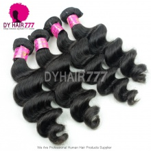 3 or 4 pcs/lot Royal Malaysian Virgin Hair Loose Wave 100% Human Hair Extensions