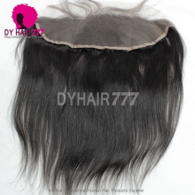 Ear to Ear 13*4 Lace Frontal Closure Human Virgin Hair Straight Hair Natural Color