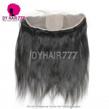 Silk Base Frontal (13*4) Straight Hair Virgin Human Hair Top Closure
