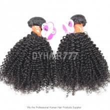 3 or 4 Bundles Royal Virgin Burmese Hair Kinky Curly Wave Human Hair Extension
