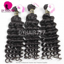 3 or 4pcs a lot Royal European Virgin Hair Deep Wave Human Hair Extension