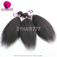 1 Bundle Royal European Virgin Hair Kinky Straight Human Hair Extension