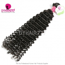 1 Bundle Virgin Malaysian Hair Bundles Malaysian Standard Remy Hair Extensions Hot Curly
