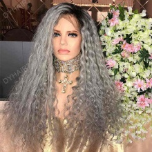 Lace Front Wig 200% Density Human Hair Customize Wig 10 Working Days Ready GTCW20-L