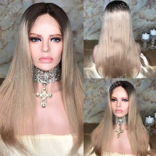 Full Lace Wig 150% Density Human Hair Customize Wig 7 Working Days Ready ZSZF50-F