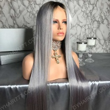 Lace Front Wig 180% Density Human Hair Customize Wig 7 Working Days Ready TGST26-L