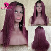 Full Lace Wig 130% Density Human Hair Customize Wig 7 Working Days Ready WSTT39-F
