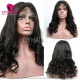 "130% Density 1B# Top Quality Virgin Human Hair Straight Loose Wave Lace Frontal Wigs(picture wig 20"")"