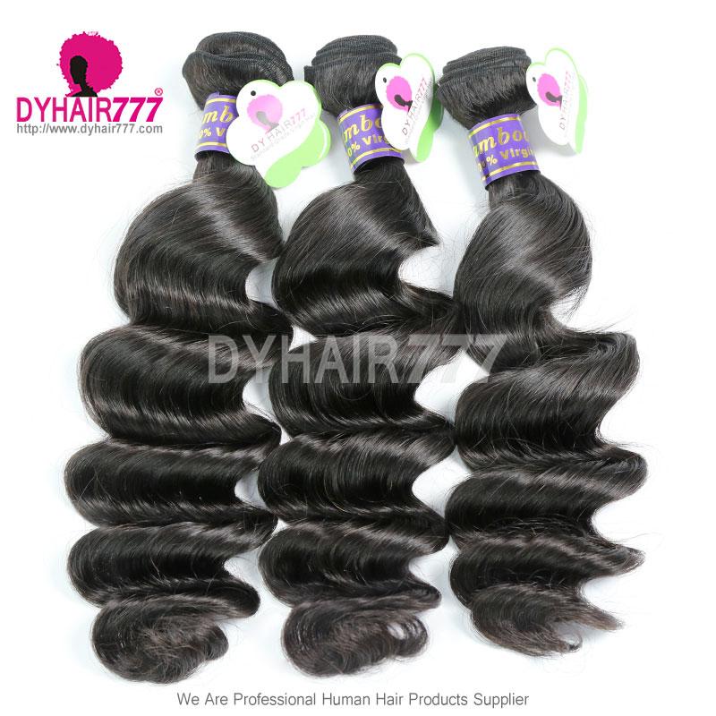 3 Or 4 Bundle Deals Peruvian Standard Virgin Hair Loose Wave Cheap