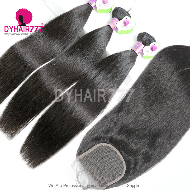 Best Match Top Lace Closure With 3 Or 4 Bundles Standard Virgin Remy